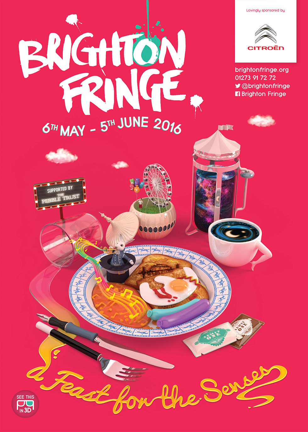 Brighton Fringe Illustrations