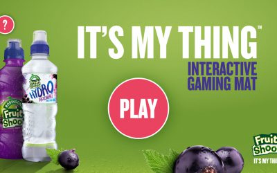 Robinsons Fruit Shoot transforms family dining experiences with  'It's My Thing' Augmented Reality gaming app
