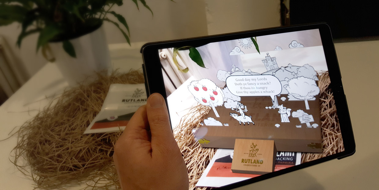 Rutland Charcuterie Augmented Reality app